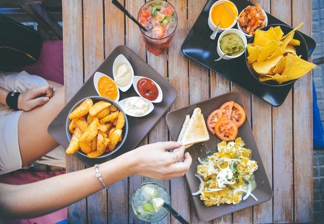 food-salad-restaurant-person