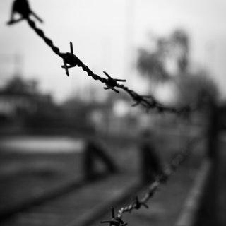 black-and-white-fence-crime-forbidden